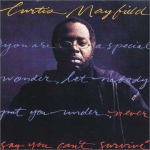 Album  Cover Curtis Mayfield - Never Say You Can't Survive on CURTOM Records from 1977