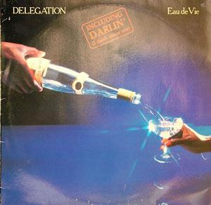 Album  Cover Delegation - Eau De Vie on ARIOLA Records from 1979