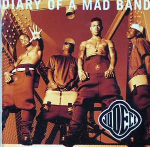 Front Cover Album Jodeci - Diary Of A Mad Band