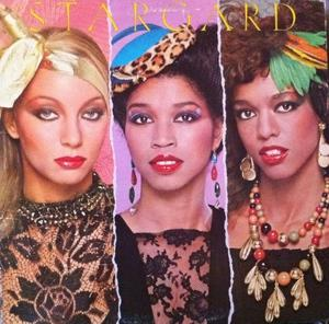 Album  Cover Stargard - The Changing Of The Gard on WARNER BROS. Records from 1979