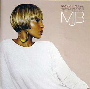 Front Cover Album Mary J. Blige - GROWING PAINS