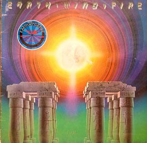 Album  Cover Earth Wind & Fire - I Am on CBS Records from 1979