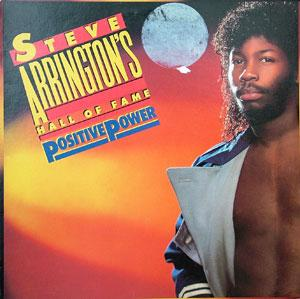 Album  Cover Steve Arrington - Positive Power on ATLANTIC Records from 1984
