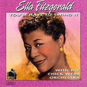 Album  Cover Ella Fitzgerald - You'll Have To Swing It on ECLIPSE MUSIC Records from 1996