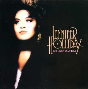 Front Cover Album Jennifer Holliday - Get Close To My Love
