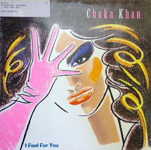 Album  Cover Chaka Khan - I Feel For You on WARNER BROS. Records from 1984