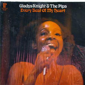 Front Cover Album Gladys Knight & The Pips - Every Beat Of My Heart