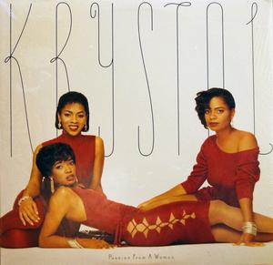 Album  Cover Krystol - Passion From A Woman on EPIC Records from 1986