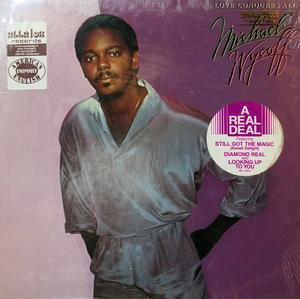 Album  Cover Michael Wycoff - Love Conquers All on RCA Records from 1982