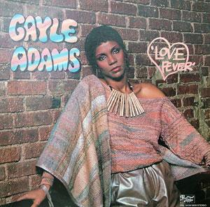 Album  Cover Gayle Adams - Love Fever on PRELUDE Records from 1982