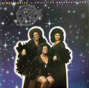 Album  Cover First Choice - So Let Us Entertain You on WARNER BROS. Records from 1976