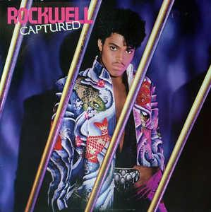 Album  Cover Rockwell - Captured on MOTOWN Records from 1985