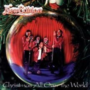 Album  Cover New Edition - Christmas All Over The World on MCA Records from 1985