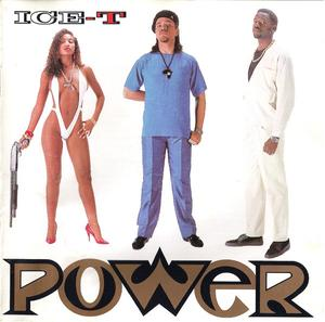 Album  Cover Ice-t - Power on SIRE Records from 1988
