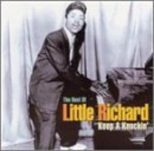 Album  Cover Little Richard - Keep A Knockin' on RHAPSODY Records from 1975