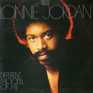 Front Cover Album Lonnie Jordan - Different Moods Of Me