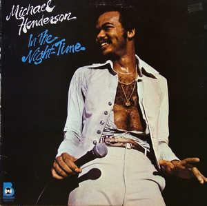 Front Cover Album Michael Henderson - In The Night-Time