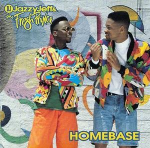Album  Cover D.j. Jazzy Jeff & The Fresh Prince - Homebase on ZOMBA Records from 1991