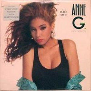 Album  Cover Anne G - On A Mission on ATLANTIC Records from 1989
