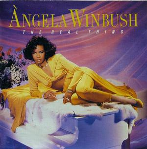 Album  Cover Àngela Winbush - The Real Thing on MERCURY Records from 1989