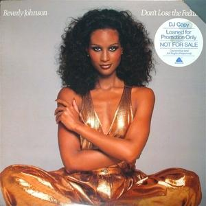 Front Cover Album Beverly Johnson - Don't Lose The Feeling