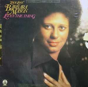Album  Cover Barbara Mason - Love's The Thing on BUDDAH Records from 1975
