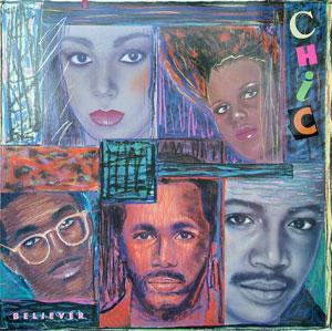 Album  Cover Chic - Believer on ATLANTIC Records from 1983