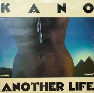 Album  Cover Kano - Another Life on CARRERE Records from 1983