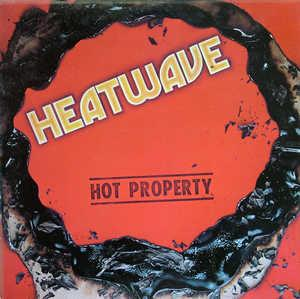 Album  Cover Heatwave - Hot Property on EPIC Records from 1979
