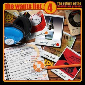 Album  Cover Various Artists - The Wants List Vol 4 on SOULBROTHER Records from 2018