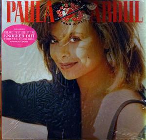 Front Cover Album Paula Abdul - Forever Your Girl