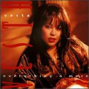 Album  Cover Vesta Williams - Everything -n- More on A&M Records from 1993