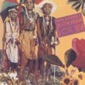 Album  Cover Hugh Masekela - Beatin' Aroun De Bush on JIVE/NOVUS Records from 1992