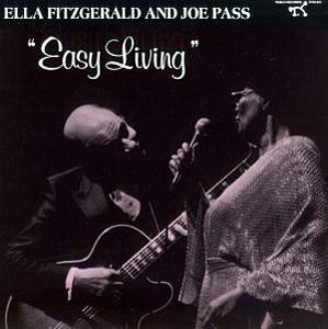 Album  Cover Ella Fitzgerald - Easy Living on PABLO Records from 1986