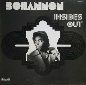 Album  Cover Hamilton Bohannon - Inside Out on DAKAR Records from 1975