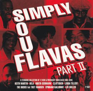 Album  Cover Various Artists - Simply Soul Flavas Part 2 on FIRST EXPERIENCE Records from 1999