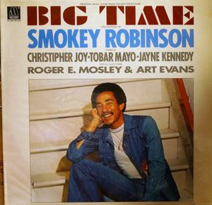 Album  Cover Smokey Robinson - Big Time on TAMLA Records from 1977