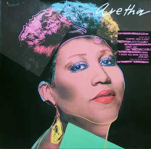 Album  Cover Aretha Franklin - Aretha on ARISTA Records from 1986