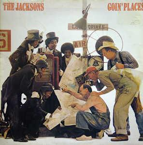 Album  Cover The Jacksons - Goin' Places on EPIC / PIR Records from 1977
