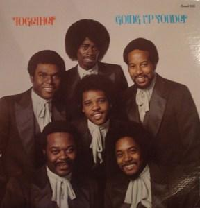 Album  Cover Together - Going Up Yonder on  Records from 1980