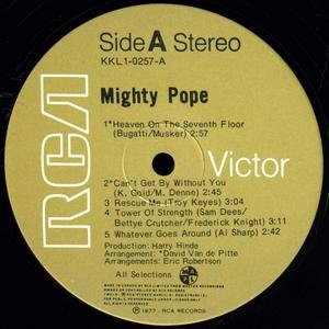 Front Cover Album Mighty Pope - The Mighty Pope