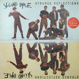 Album  Cover Second Image - Strange Recflections on MCA Records from 1985