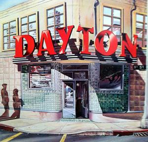 Album  Cover Dayton - Dayton on UNITED ARTISTS Records from 1980
