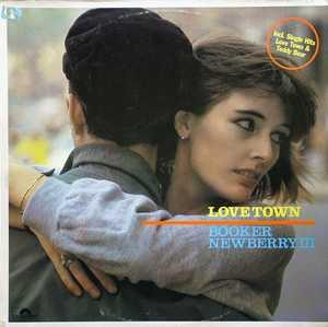 Front Cover Album Booker Newberry Iii - Love Town