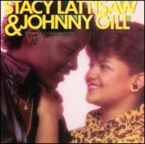 Album  Cover Johnny Gill - Perfect Combination on COTILLION Records from 1984