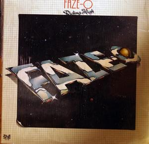 Album  Cover Faze-o - Riding High on SHE Records from 1977