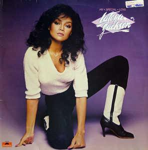 Album  Cover La Toya Jackson - My Special Love on POLYDOR Records from 1981