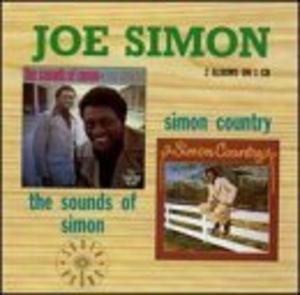 Album  Cover Joe Simon - Simon Country on SPRING Records from 1974