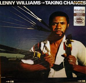 Album  Cover Lenny Williams - Taking Changes on MCA Records from 1981