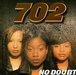 Album  Cover 702 - No Doubt on MOTOWN Records from 1996